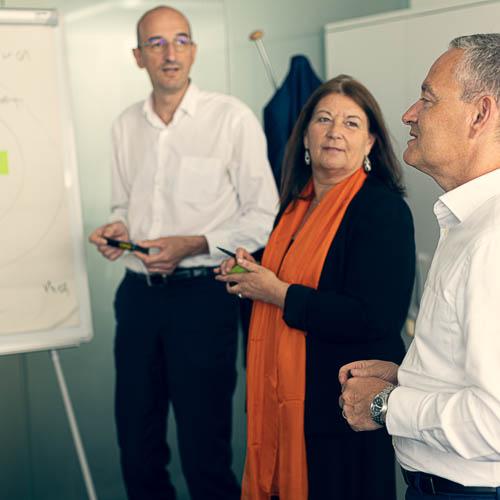 Coaching d'équipe de direction avec Cap Dirigeant
